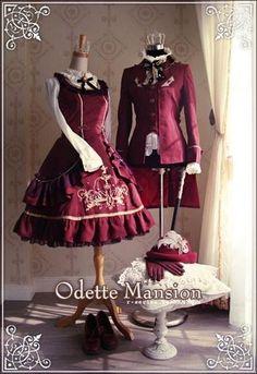 오데뜨 멘션 자켓 드레스