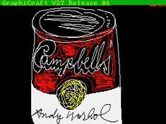 Warhol original funna pa diskett