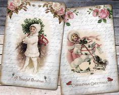 Christmas Mini Albums, Christmas Past, Pink Christmas, Christmas Greetings, Vintage Christmas, Christmas Decor, Christmas Pattern Background, Vintage Easter, Christmas Printables