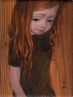 Mark Ryden – 2006 - Girl Color Study (Oil on Wood Slab) Mark Ryden, Tim Walker, Pop Surrealism, Illustrations, Illustration Art, Lowbrow Art, Color Studies, Cultura Pop, Whimsical Art