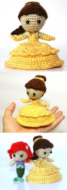 Found at Amigurumipatterns.net French Beauty Doll by Sahrit $5.00