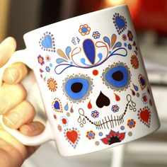 Dia de los Muertos is a Mexican Day of the Dead: happy and a little bit spooky holiday :)
