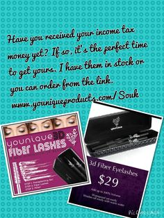 The best mascara you will ever use! I'll never use anything different! Amazing length & volume! Order yours with some of your income tax refund. Here's the link to order.  www.youniqueproducts.com/Souk
