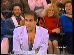 ADRIANO CELENTANO & PIPPO BAUDO  (PRIMA PAGINA - DOMENICA IN' 1983) P.s... working outfit is IN Glenn Miller, Michelangelo, Youtube, Album, Songs, Facebook, Outfits, Outfit, Song Books