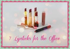 7 Wearable Lipsticks