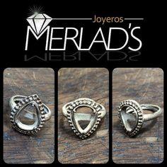 Recuerda que te ofrecemos mucho más que un anillo, te ofrecemos Acabados perfectos. Merlads Joyeros Calidad & Garantía.