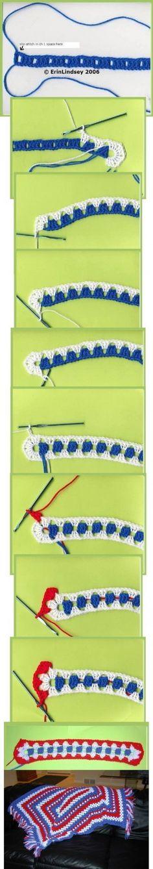 Random Crochet Patterns with Pictures Found Online #crochet #patterns - @stuckathomemom