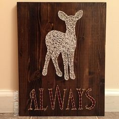 """Harry Potter string art. """"Always"""". Oh Severus Snape  See this Instagram photo by @southern.string • 68 likes"""