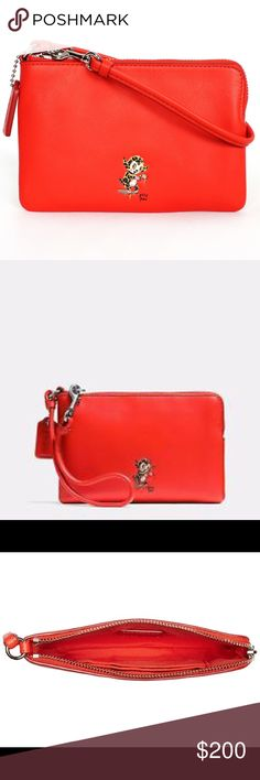 """FLASH SALE!NWT Coach Gary Baseman Limited Edition FLASH SALE!!! NWT Coach Gary Baseman LIMITED EDITION Wristlet!!! Measures 6.5"""" in length & 4"""" in height- perfect gift!!! SOLD OUT everywhere!!! Coach Bags"""