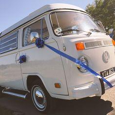 VW Camper wedding in Clovelly, Devon. Devon Holidays, North Devon, Vw Camper, Van, Weddings, Wedding, Vans, Marriage, Vans Outfit