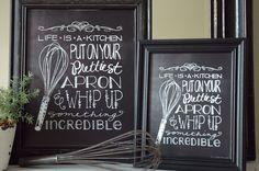 Free Kitchen Art Printable I Heart Nap Time | I Heart Nap Time - Easy recipes, DIY crafts, Homemaking