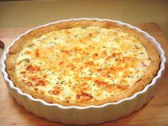 Your share text Quiche Lorraine, Quiches, No Salt Recipes, Cooking Recipes, Healthy Recipes, Healthy Foods, Portuguese Recipes, Macaroni And Cheese, Food Porn