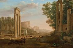 Claude_Lorrain_-_Capriccio_with_ruins_of_the_Roman_Forum_-_Google_Art_Project.jpg (4978×3284)