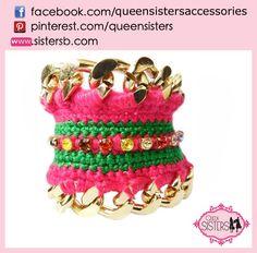 #bracelet #crochet