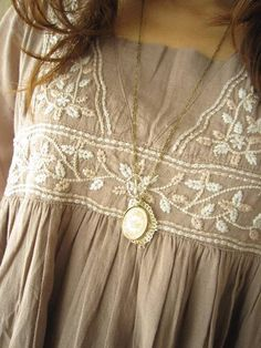 embroidered tunic.