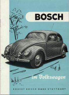 VW - 1952 - Bosch im Volkswagen - Repro - [1411]-1