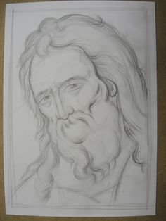 Teaching Drawing, Byzantine Icons, Art Icon, Painting Process, Orthodox Icons, Christian Art, Religious Art, Pencil Drawings, Good Books
