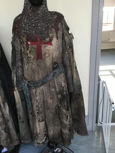 Breaking down costume - crusaders risen from the dead - Helen Beaumont
