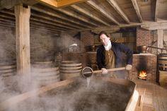 George Washington's Distillery & Gristmill, Mount Vernon, Va.