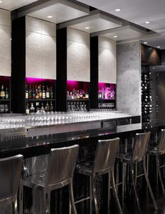 writing loft offer over tea+truffle popcorn in piano bar, then bottles of celebration wine upstairs at market w/ac Armoire Bar, Sky Bar, Piano Bar, Bars And Clubs, Modern Restaurant, New England Homes, House And Home Magazine, Wall Treatments, Vancouver