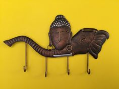 Buddha Elephant, Tribal Women, Chf, Wrought Iron, Style Fashion, Hanger, Shop Now, Silver Jewelry, Artwork