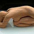 Figure Carving Sculpture by Andrew Boyce