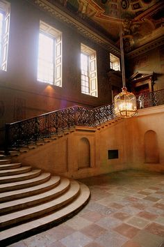 The Queen's Staircase, Hampton Court Palace by $imbolism, via Flickr
