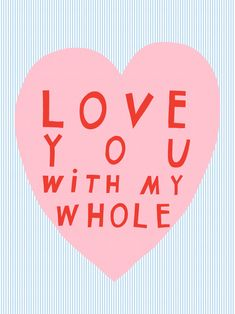 love you type