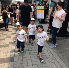 Fantaken Song Triplets with Appa for a Blood Donation Campaign Cute Kids, Cute Babies, Song Il Gook, Superman Kids, Korean Tv Shows, Man Se, Song Daehan, Song Triplets, My Bebe