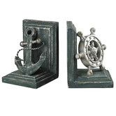 Found it at Wayfair - Coastal Book Ends (Set of 2)