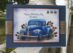 F4A82 Mostly blue brother birthday