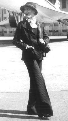 Baccarat Weatherall 1970s © British Airways #travel #alookat #airlines