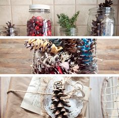 Brandon and Shelby: 5 ways to decorate with Pinecones