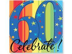 60th Birthday Party Ideas      www.partysuppliesnow.com.au