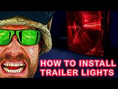 The Easy And Right Way To Install The Harbor Freight Deluxe 12 Volt Trailer Light Kit 62490 Youtube Trailer Enclosed Trailers Trailer Light Wiring