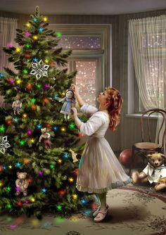 Нарядили елку.... Обсуждение на LiveInternet - Российский Сервис Онлайн-Дневников