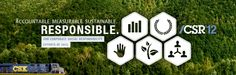 CSX Launches 2012 CSX Corporate Social Responsibility Report and Microsite