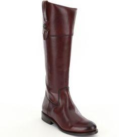 Redwood:Frye Jayden Button Tall Wide Calf Boots