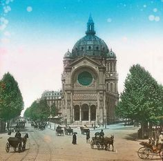 The Église Saint-Augustin, in the 8th arrondissement. | Then Vs. Now: Paris In The Early 1900s