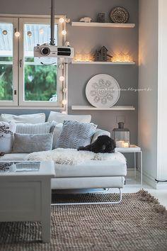 Kynttilöitä ja uudet tyynynpäälliset