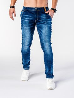 SPODNIE P592 - JEANSOWE - Sklep Ombre Pants, Fashion, Moda, Trousers, Women Pants, Women's Pants, Fasion, Fashion Illustrations, Fashion Models