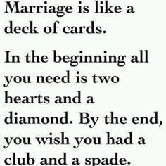 Marriage is marriage