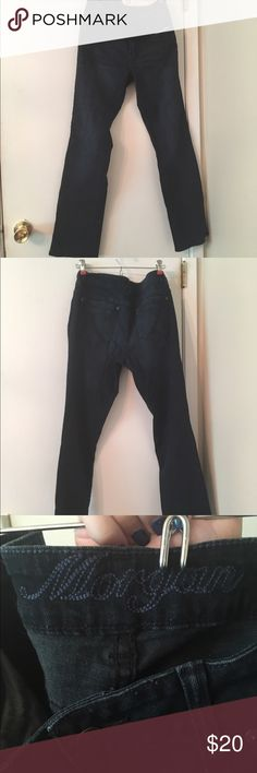 Morgan boot cut jeans Only worn a handful of times! Perfect condition Morgan jeans from Delias in a dark wash. Delias Jeans Boot Cut