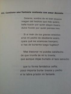 """Sor Juana Ines de la Cruz (1651-1695) poeta mexicana. """"Detente sombra de mi bien esquivo, imagen del hechizo que más quiero, bella ilusión por quien alegre muero, dulce ficción por quien penosa vivo."""" #labellezadelalenguacastellana"""