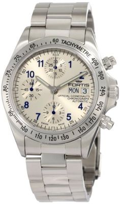 Fortis | Review Fortis Men's 630.10.92 M Cosmonauts Chronograph Automatic Day and Date Watch