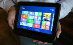 HP has announced the ElitePad, an Intel-powered Windows 8 tablet aimed at the enterprise.