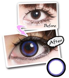 The EOS Candy (aka Sakura) circle contacts feature a dark limbal ring to clearly define your eyes while adding a cute jelly-like pop of color! #candy #circlelens #eyes #cute #circlelens