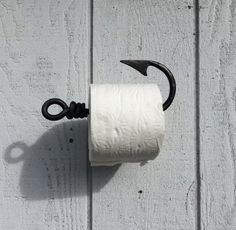 Hey, I found this really awesome Etsy listing at https://www.etsy.com/listing/229510321/toilet-paper-holder-fishing-hook-tissue
