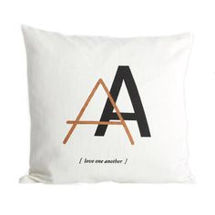 House doctor kuddfodral letter a House Doctor, Bed Pillows, Cushions, Initial Letters, Love Home, Colorful Interiors, Furniture Decor, Decorative Pillows, Beautiful Homes