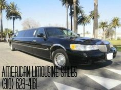 2000 Black 120-inch Lincoln Town Car limousine by Classic #1032  Visit our website at: Americanlimousinesales.com